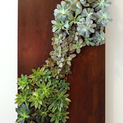 """Flourish"" Vertical Succulent Garden"