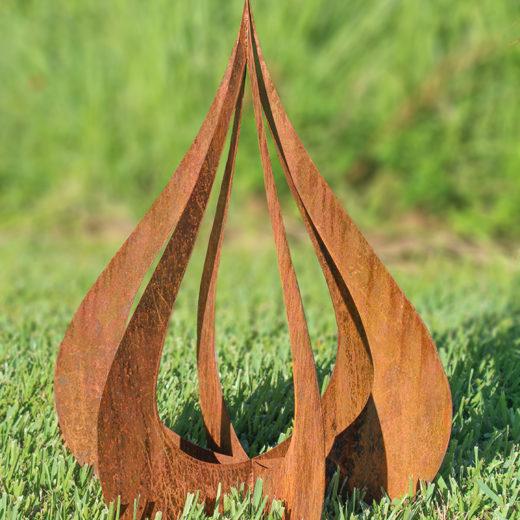 Chroma Studio - Teardrop Garden Sculpture 2