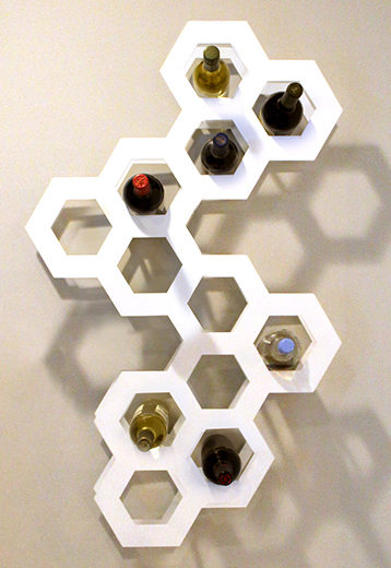Chroma Studio - Hive Wine Rack 1